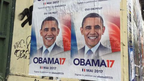 40,000 people in France want Obama to be their next president
