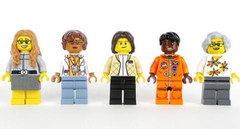 Lego to make set of five figurines based on real female NASA employees
