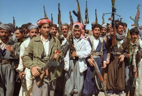 Rival Kurdish groups clashing in northwestern Iraq