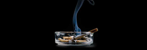 Cigarette smoke curbs lung