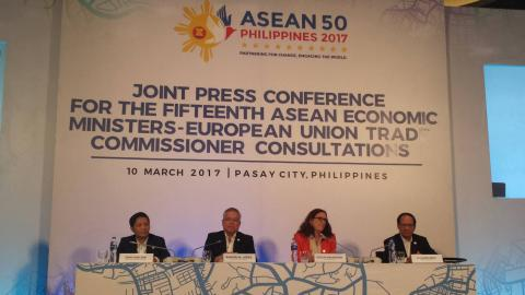 ASEAN, EU countries are keen to resume free trade talks