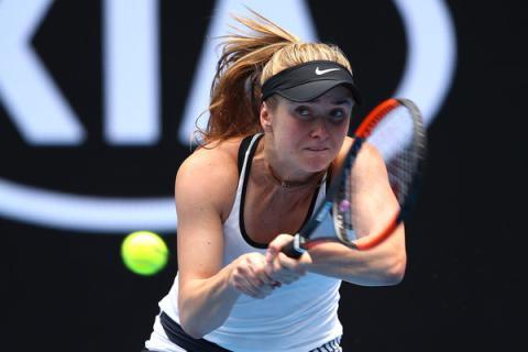 Ukrainian tennis player Elina Svitolina comes first in WTA ranking