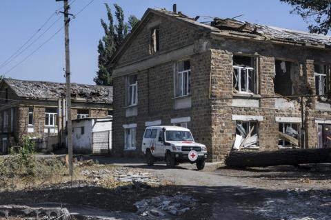 ICRC increases budget for humanitarian operations in Ukraine to EUR 56m