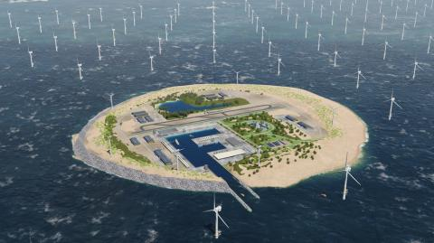 Artificial North Sea island will provide vast new supply of renewable energy