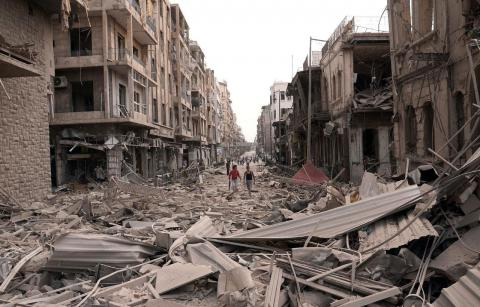 Syrian war monitor: 321,000 people killed during six years of fighting