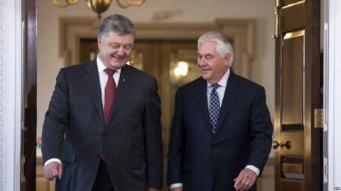 Poroshenko, Tillerson talks were 'very effective' - Ukrainian President