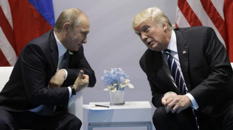 Trump, Putin did discuss sanctions related to Russian meddling in 2016 US election when they met at G20 - White House