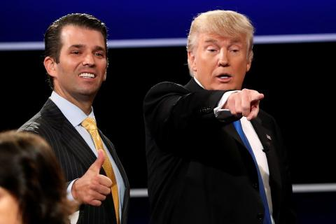 Trump Jr knew about Russian govt attempt to damage Clinton's campaign