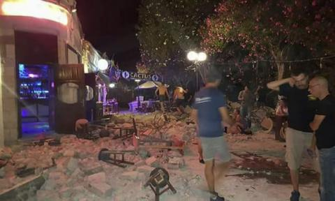6.7 magnitude quake hits Greek, Turkish coast, kills at least 2, injures 200