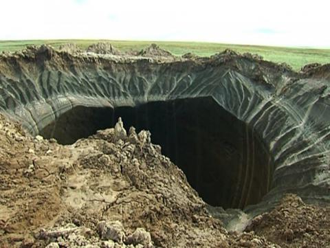 Strange things happening in northern Siberia as permafrost melting
