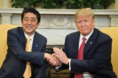 Trump vows to protect US allies from North Korea's threat - Japanese PM Abe