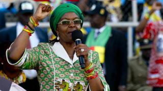 Grace Mugabe fails to appear at leaders summit in SA