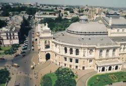 Major touristic attractions in Ukrainian city of Odesa from bird's eye view (VIDEO)