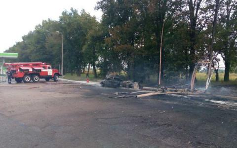 Bomb blasts car with criminal policeman's family near Ukrainian city of Odesa
