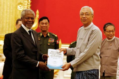 Myanmar tensions: Annan warns on Rakhine 'radicalisation'