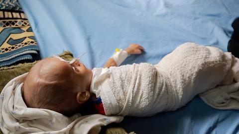 Yemen war: Children dead after Sanaa air strike