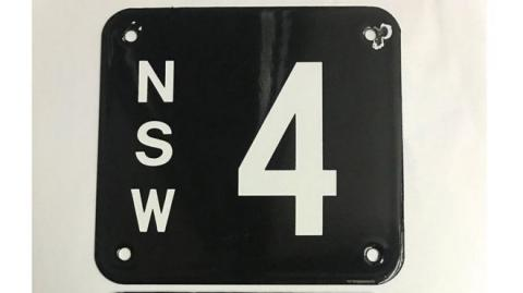 Australian licence plate sells for record A$2.45m
