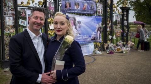 'I left flowers for Diana in 1997'