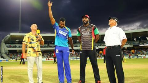 Kieron Pollard criticised after no-ball denies Evin Lewis chance of a ton