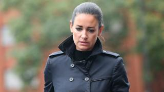 Kirsty Gallacher admits drink-driving in Eton