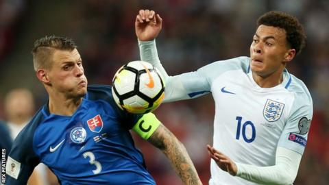 Dele Alli: Middle-finger gesture aimed at England team-mate Kyle Walker