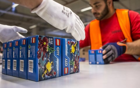 Lego sales crumble as children turn away from the building bricks