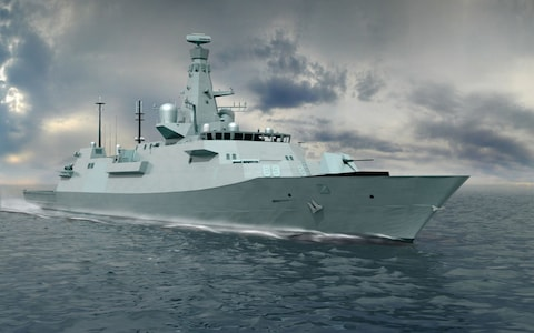 Britain orders fleet of 'budget battleships' in deal to boost shipbuilding