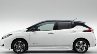 Nissan launches longer-range electric car