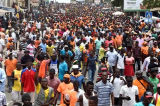 Togo protests against Faure Gnassingbe