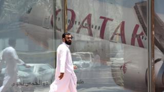 Qatari and Saudi leaders discuss crisis