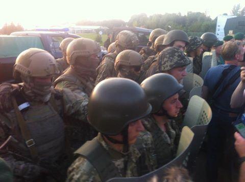 Saakashvili crossed Polish border, but stopped before Ukrainian