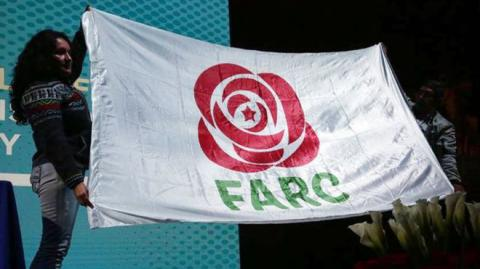 Farc former rebels choose new political party name and logo