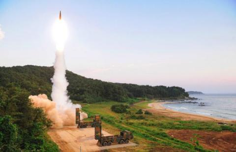 South Korea in live-fire drill after nuclear test
