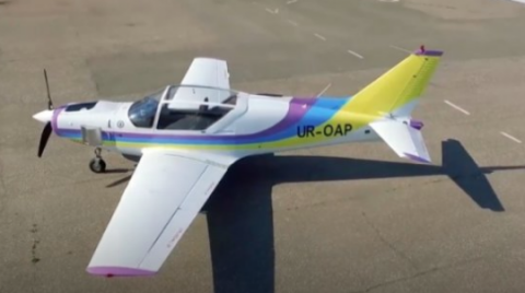 Ukroboronprom presents new light search and rescue aircraft