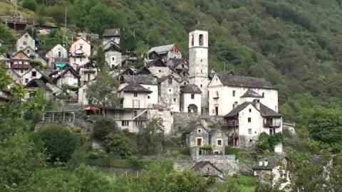 Can modern makeover save smallest Swiss village?
