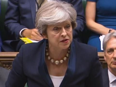 May pleads with MPs to back key Brexit Bill