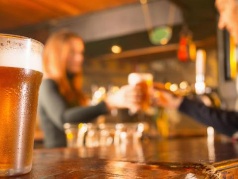 Where's the most expensive place to buy a pint?