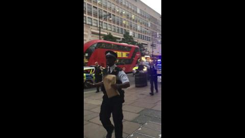 'Electrical explosion' on Oxford Street injures one man
