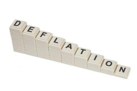 Deflation at scale 0.1% is recorded in August