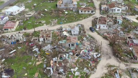 Hurricane Irma: Caribbean islands left with trail of destruction