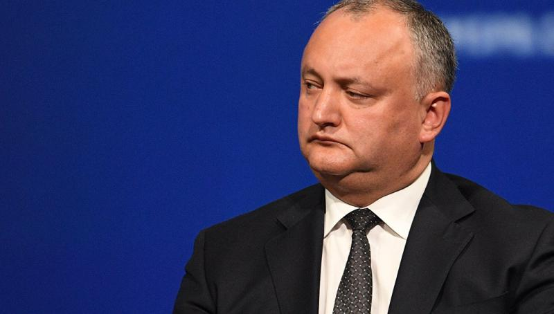 Dodon orders to check Moldovan military units due to participation of militaries in Rapid Trident